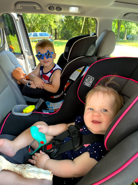 traveling with two toddlers