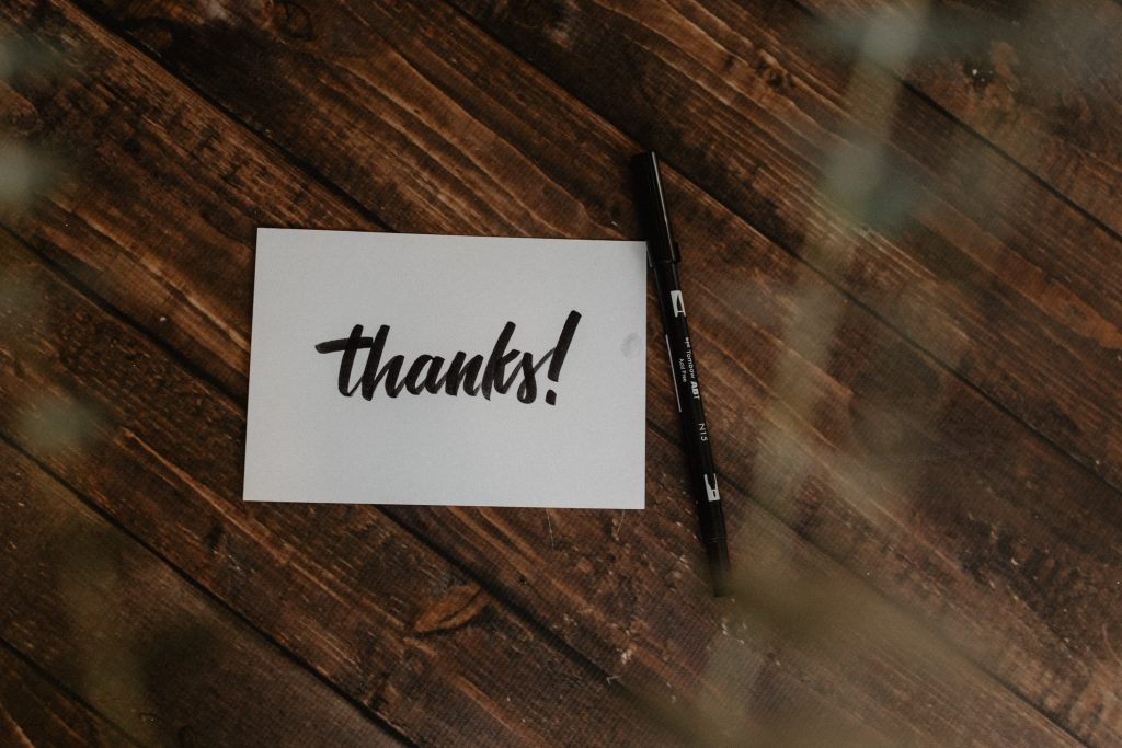 baby shower tip write thank you notes