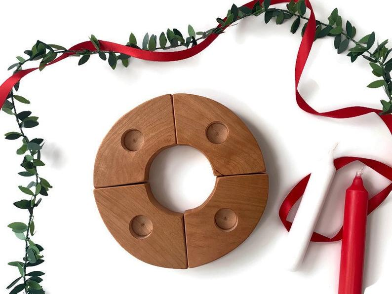 use an advent wreath with toddlers this christmas