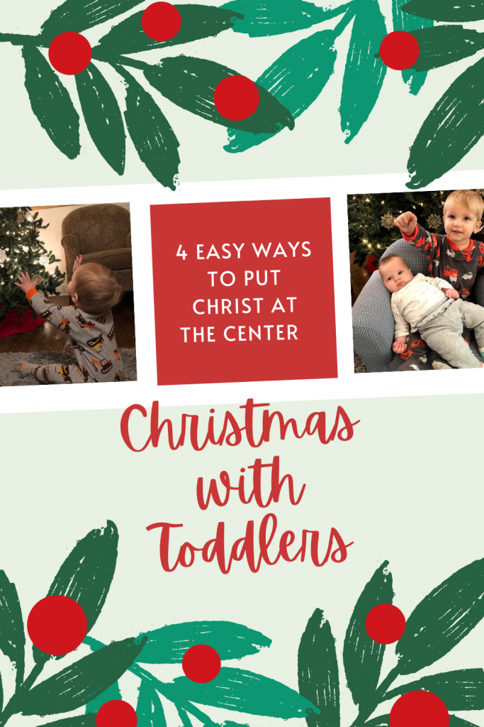 Teaching Toddlers about Jesus Birth at Christmas