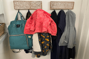 entrance coat organization cleaning schedule for mamas