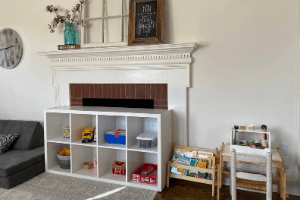 keeping a tidy house with toddlers