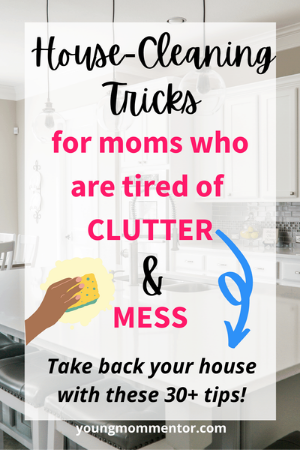 tips for keeping your house clean with little kids
