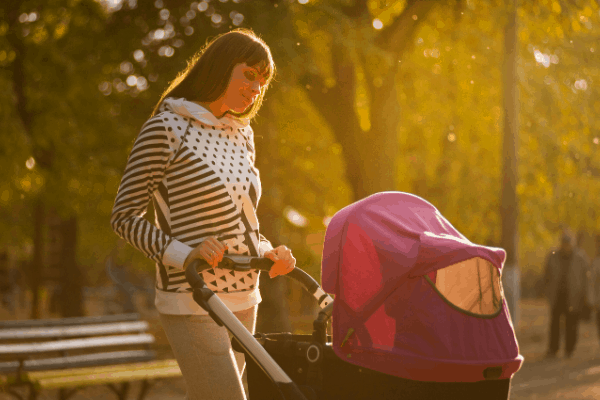 getting in more movement as a mom