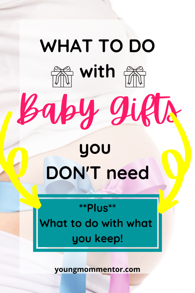 what to do with baby gifts you don't need